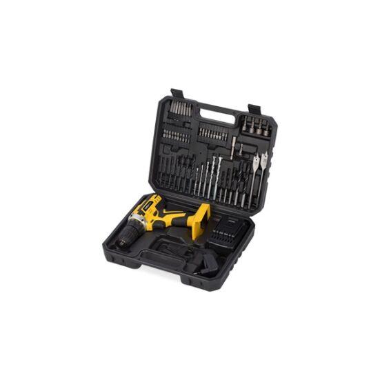PowerPlus sárga akkus fúró - csavarozó szett 20V POWX00820