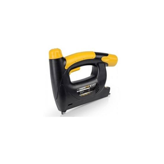 PowerPlus sárga akkus tűzőgép 4,8V POWX137